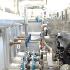 鹿児島市青果市場貯水槽ポンプ室